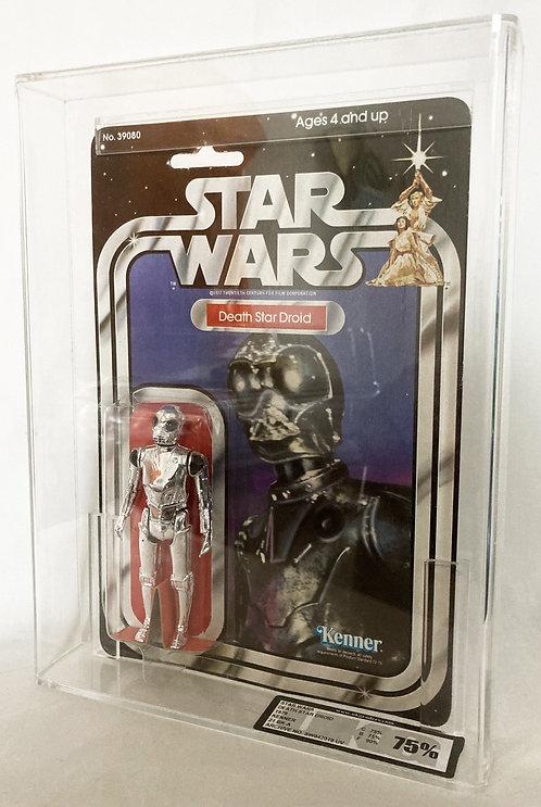 Vintage Star Wars Death Star Droid 21 Back Kenner Graded 75% 1977