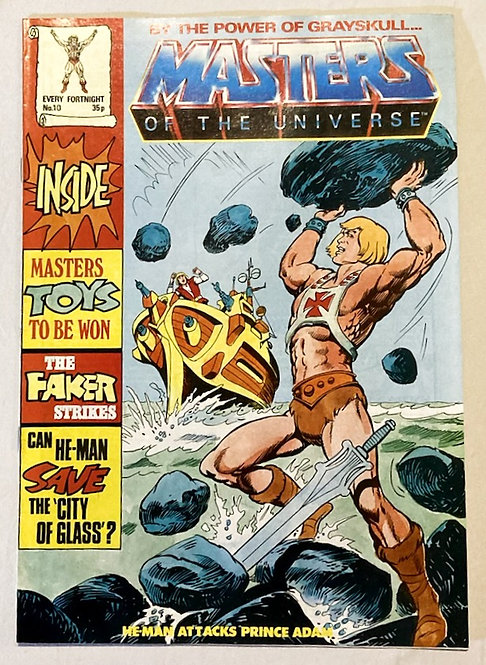 He-Man And The Masters Of The Universe Comic No 10 1986