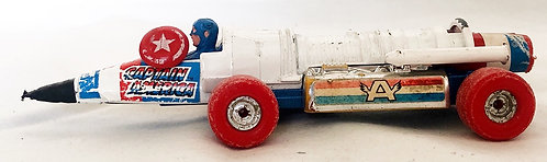 Captain America Rocket Car Corgi 1979