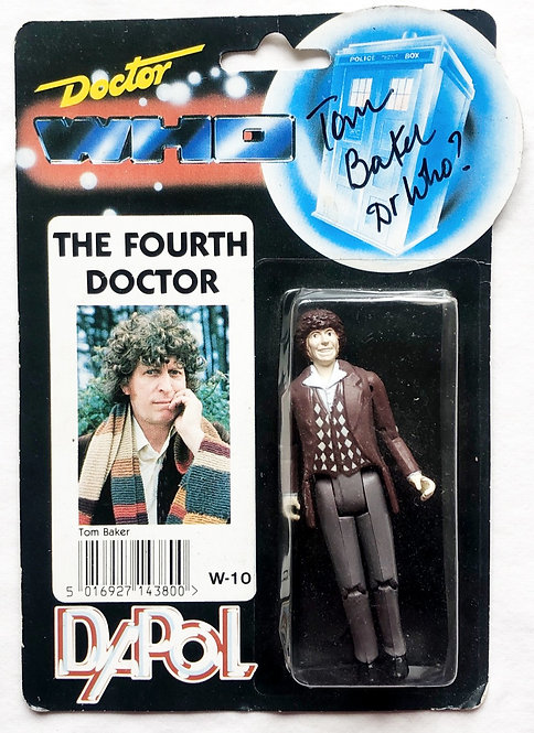 Doctor Who Forth Doctor Signed By Tom Baker Dapol 1987