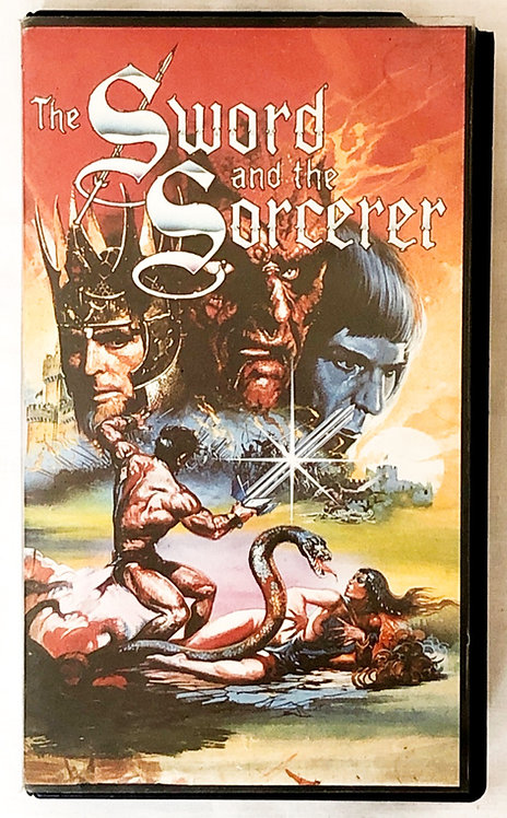 The Sword And The Sorcerer VHS 1982