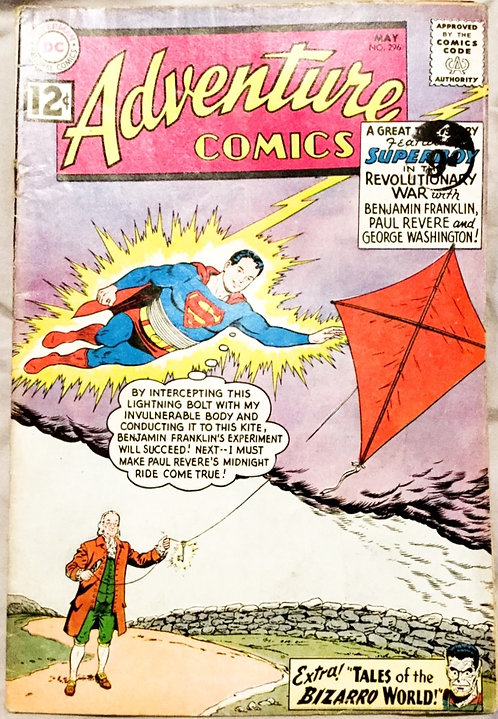 Action Comics #296 DC 1962