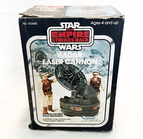 Vintage Star Wars The Empire Strikes Back Radar Laser Cannon Kenner 1982