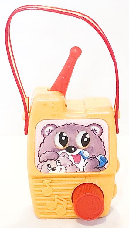Musical Wind-Up Radio Teddy Bears Picnic Sankyo Japan
