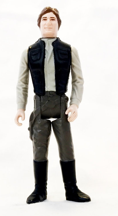 Vintage Star Wars Han Solo Carbonite Last 17 Kenner 1983