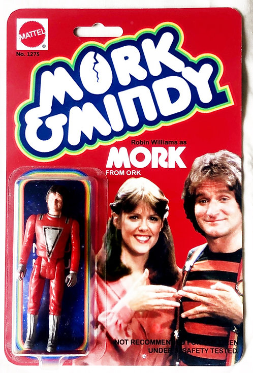 Mork And Mindy Mork From Ork Robin Williams Custom