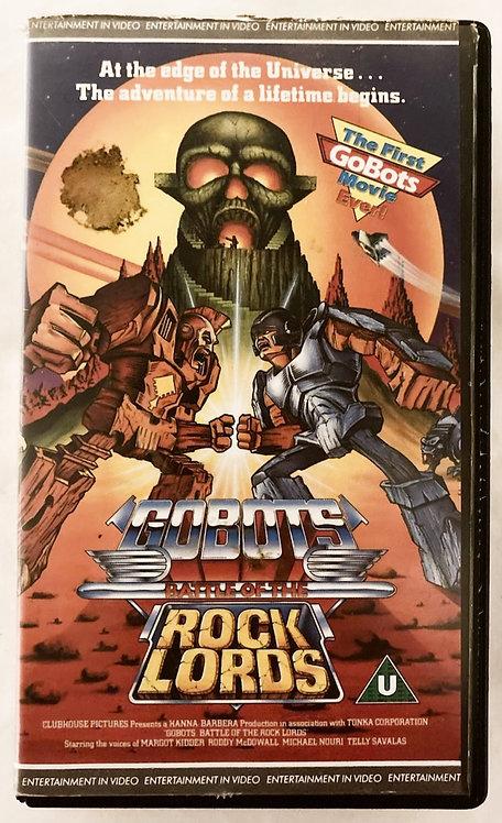 Go-Bots Battle Of The Rock Loads Movie VHS