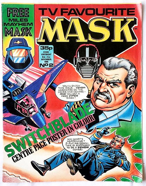 M.A.S.K. Comic No.2 U.K. 1986