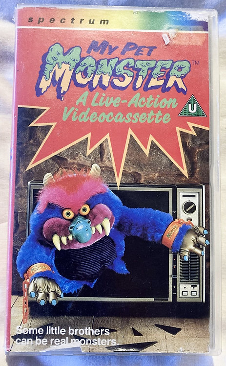 My Pet Monster A Live-Action Video Cassette VHS Hi-Tops 1986