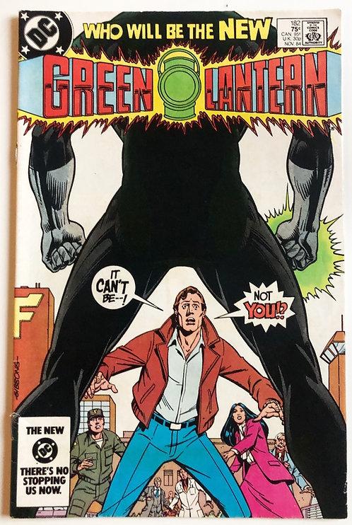 DC Green Lantern#182 First Appearance New Green Lantern November 1984