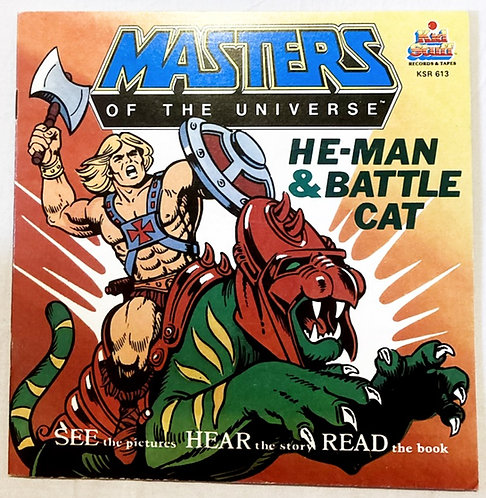 He-Man And The Masters Of The Universe He-Man & Battle Cat See Hear Read Book 83