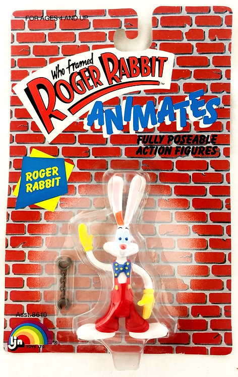 Who Framed Roger Rabbit Animates Posable Figure LJN 1987