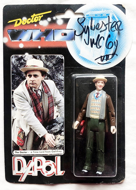 Doctor Who The Doctor Signed By Sylvester McCoy Dapol 1987