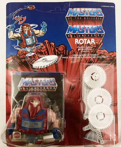 He-Man And The Masters Of The Universe Rotar Euro Card Spain Mattel 1986