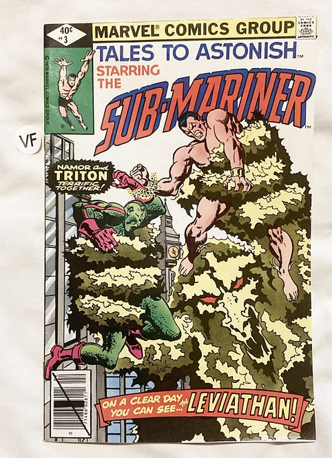 Marvel Tales To Astonish Sub-Mariner #3 1979