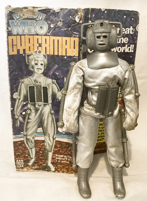 Vintage Doctor Who Cyberman Deny Fisher 1976