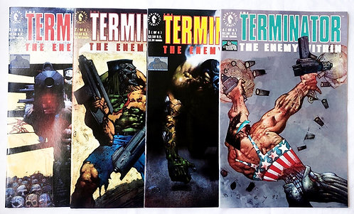 The Terminator The Enemy Within Comic Set Dark Horse 1991