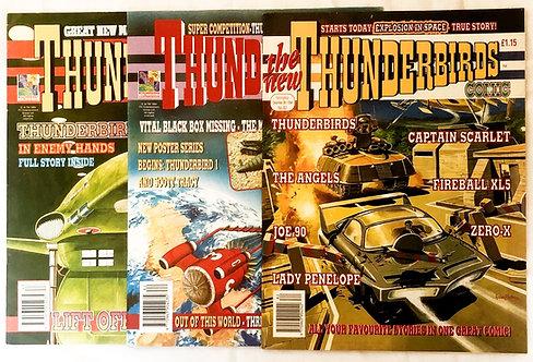 Thunderbirds U.K. Comics Set 1994