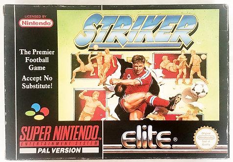 Striker Super Nintendo SNES U.K. (PAL)