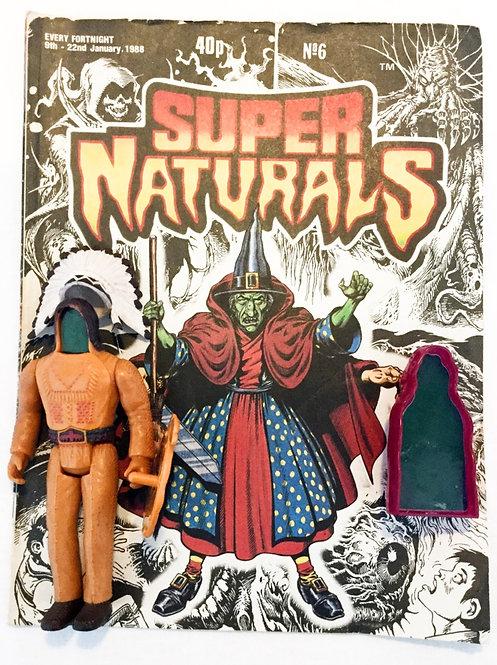 Super Naturals Figure And Comic Set Tonka