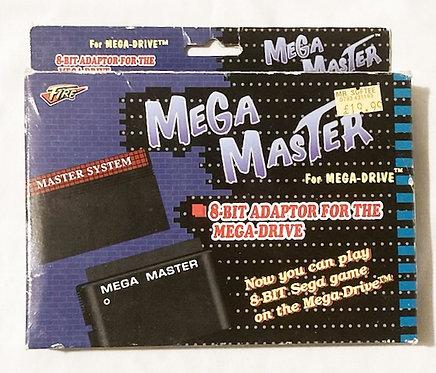 Mega Master 8-Bit Adaptor Master System To Mega Drive Fire 1991