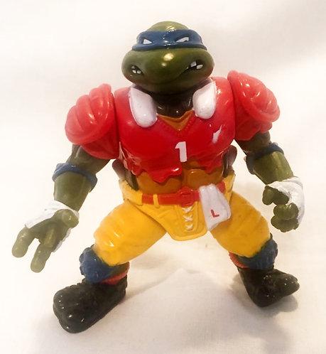 Teenage Mutant Hero Turtles T. D. Tossin' Leo Playmates 1991