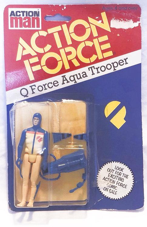 Action Force Q Force Aqua Trooper