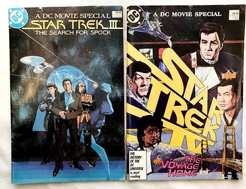 Vintage DC Movie Special Star Trek Comic Set