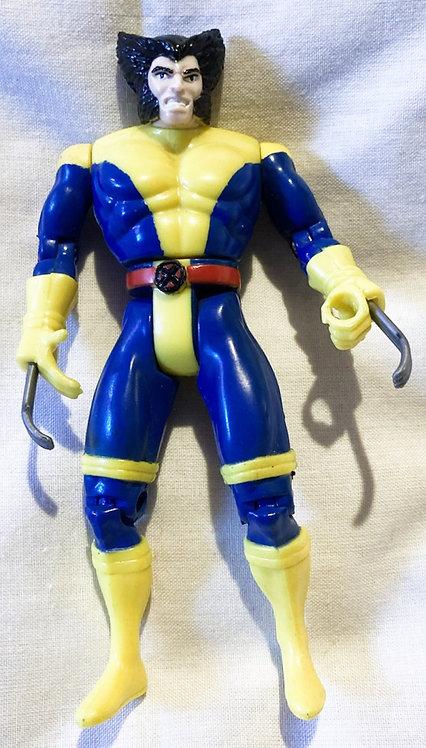 Marvel X-Men Wolverine (3rd Edition) Blue Legs Toy Biz 1992