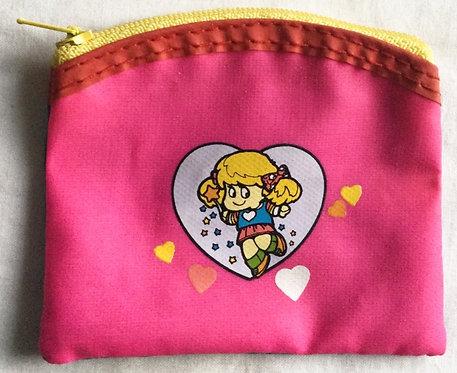 Rainbow Bright Small Zip Bag Hallmark 1983