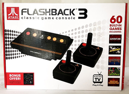 Atari Flash Back 3 with 60 Classic Built-in Games