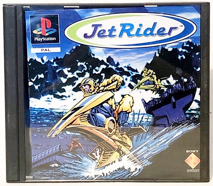 Jet Rider PlayStation Game U.K. (PAL)