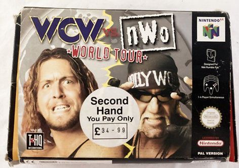 Nintendo N64 WCW Vs NWO World Tour 1998
