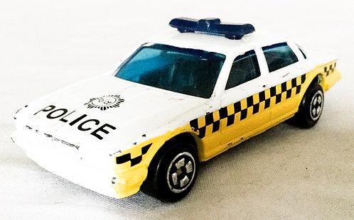 Hot Wheels Vintage Police Car