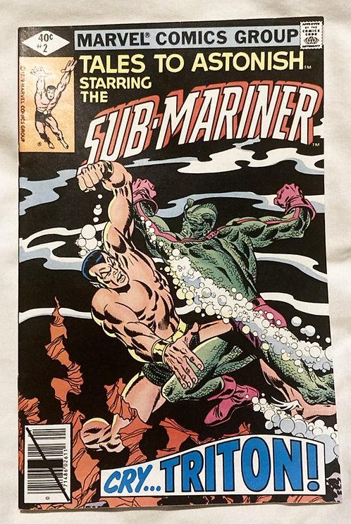 Marvel Tales To Astonish Sub-Mariner #2 1979