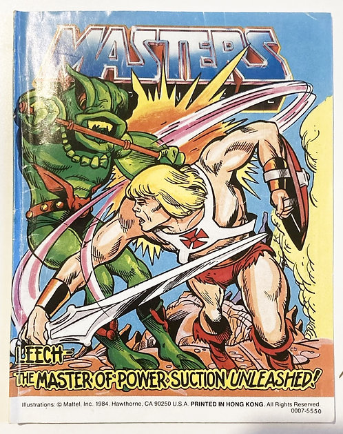 He-Man And The Masters Of The Universe The Master Of The Power Suction Unleashed