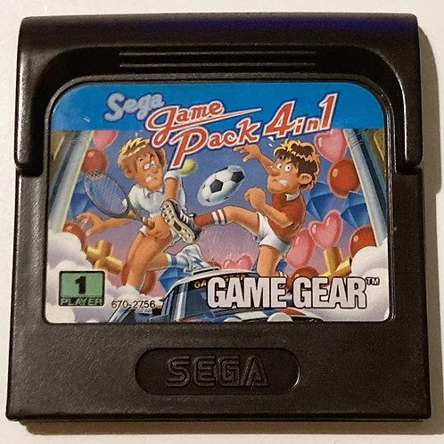 Sega Game Gear Game Pack 4 in 1 U.K. (Pal)