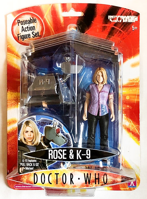 Doctor Who Rose And K9 Set