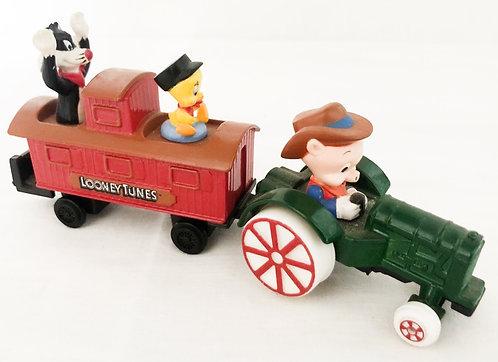 Loony Tunes Die-cast Train Set ERTL 1989