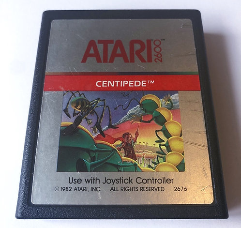 Centipede (Atari 2600 Pal) Cartridge Only