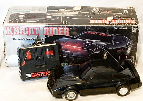 Vintage Knight Rider Radio Remote Control RC Car Matsushiro