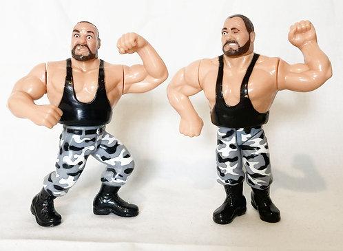 WWF Bushwhackers Hasbro 1991