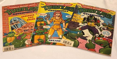 Teenage Mutant Hero Turtles Comics Set of 3 (UK)