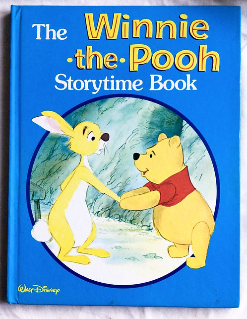 Disney The Winnie-The-Pooh Storytime Book 1984