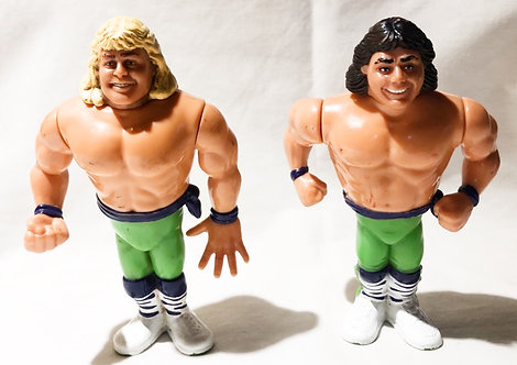 Vintage WWF The Rockers Hasbro