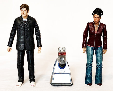 Doctor Who Doctor Martha And K9
