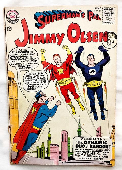 Superman's Pal Jimmy Olsen #69 1963