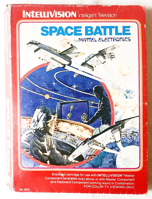 Space Battle Intellivision Intelligent Television U.K. (PAL)