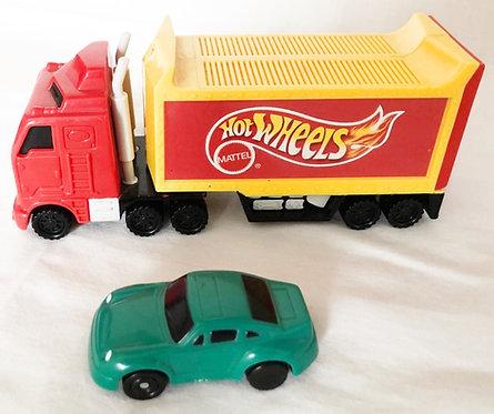 Hot Wheels McDonalds Car And Truck Set