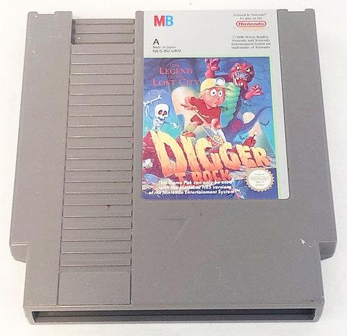 Digger T-Rock Nintendo NES U.K. (PAL)